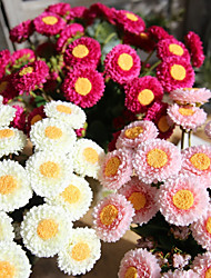 cheap -Artificial Flowers 1 Branch Rustic / Modern / Contemporary Chrysanthemum Tabletop Flower