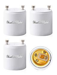 billiga -YouOKLight 4pcs GU 24 till E27 / E26 Bulb Accessory / Omvandlare Ljusuttag Plast