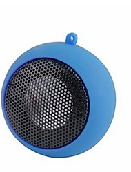 baratos -Hamburg Adorável Áudio (3.5mm) Altofalante de Estante Azul Escuro Roxo Amarelo Vermelho Rosa claro