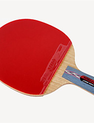 cheap -DHS® Hurricane CS Ping Pang/Table Tennis Rackets Wooden Carbon Fiber Rubber Short Handle Pimples