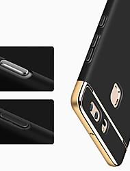 baratos -Capinha Para Huawei P10 Lite / P10 Antichoque / Ultra-Fina Capa Proteção Completa Sólido Rígida Plástico para P10 Plus / P10 Lite / P10