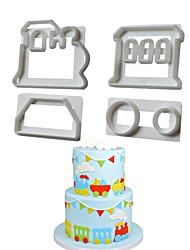 preiswerte -Schleppe Für Kochutensilien Kunststoff Kreative Küche Gadget Gute Qualität Backen-Werkzeug