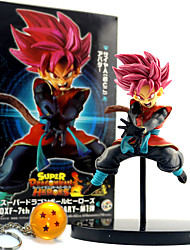 cheap -Anime Action Figures Inspired by Dragon Ball Son Goku PVC 12 CM Model Toys Doll Toy