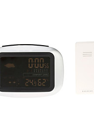 cheap -Thermometers Other Home Electronic Clocks & Thermometers Temperature Display Battery #