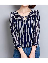 abordables -Mujer Bonito Blusa Estampado