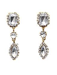 cheap -Women's Drop Crystal / Rhinestone Crystal / Imitation Diamond Drop Earrings - Formal / Fashion White Geometric / Square Earrings For