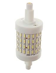 Недорогие -SENCART 1шт 8W 800lm R7S LED лампы типа Корн T 72 Светодиодные бусины SMD 4014 Декоративная Тёплый белый / Белый 85-265V