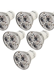 cheap -YouOKLight 6pcs 3W 240lm GU10 LED Spotlight 3 LED Beads High Power LED Decorative Warm White Cold White 85-265V