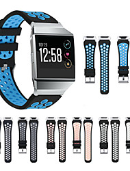 preiswerte -Uhrenarmband für Fitbit ionic Samsung Galaxy Sport Band Silikon Handschlaufe