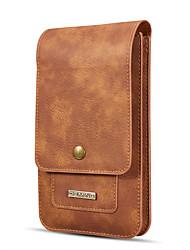 baratos -Caso dg.ming para xiaomi mi max 2 / mi max carteira / titular do cartão saco bolsa sólida de cor sólida de couro genuíno para xiaomi mi max 2 / xiaomi mi max