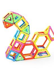 Недорогие -Магнитный конструктор Магнитные плитки 141 pcs Yuna Архитектура Мальчики Девочки Игрушки Подарок