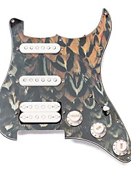 Недорогие -профессиональный SSH Гитара Пластик Материал Аксессуары для музыкальных инструментов 28.5*22*2cm