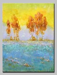 abordables -mintura® grande taille peint à la main arbre paysage peinture à l'huile sur toile photos d'art mural pour la décoration de la maison sans cadre