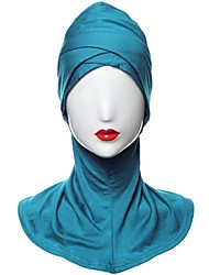 cheap -Women's Vintage Casual Hijab - Solid Colored