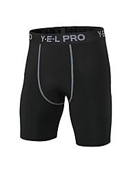 preiswerte -Herrn Laufhosen Atmungsaktivität Shorts/Laufshorts Übung & Fitness Polyester Weiß Schwarz Blau Rot/Weiß Grau S M L XL XXL