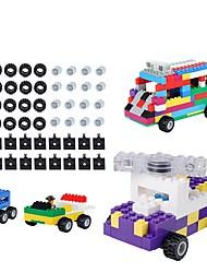 preiswerte -Bausteine 48pcs Kreisförmig Dekompressionsspielzeug Familie Alles Jungen Spielzeuge Geschenk