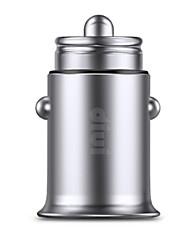 abordables -Cargador de Coche Cargador usb USB Multisalida / QC 2.0 2 Puertos USB 2.4 A DC 12V-24V para