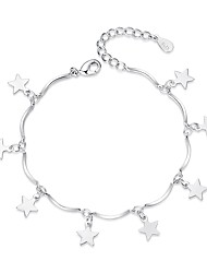 cheap -Women's Charm Bracelet Fashion Sweet Alloy Geometric Jewelry Gift Daily Costume Jewelry Silver