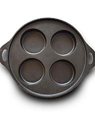 abordables -Hierro Fundido Hierro Fundido Redondo Pan Artículos de Cocina, 32.5*4.1