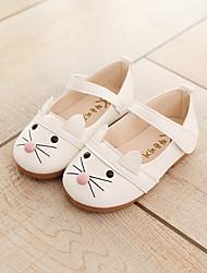 Недорогие -Девочки обувь Полиуретан Весна Осень Детская праздничная обувь Удобная обувь Мокасины и Свитер На липучках для Повседневные на открытом
