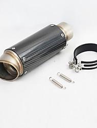 Недорогие -C19 60 mm Нержавеющая сталь Глушители выхлопа For Мотоциклы Универсальный