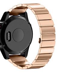 Недорогие -Ремешок для часов для Fenix 5x Garmin Классическая застежка Нержавеющая сталь Повязка на запястье