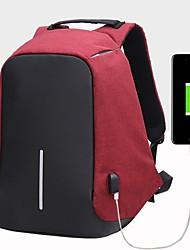 cheap -Unisex Bags Canvas Sports & Leisure Bag Zipper Black / Gray / Red