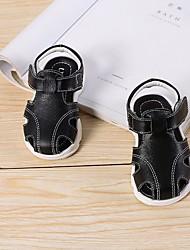 povoljno -Djevojčice Dječaci Cipele Koža Ljeto Cipele za bebe Sandale za Kauzalni Obala Crn