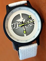 Недорогие -Часы Вдохновлен Sword Art Online Asuna Yuuki Аниме Косплэй аксессуары Часы Металлические