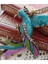 Недорогие -Ожерелья с подвесками / Воротничок - Птица Классика, Мода Цвет радуги 55 cm Ожерелье Бижутерия Назначение Повседневные, Для улицы