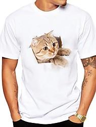 preiswerte -Herrn Tier - Niedlich Street Schick T-shirt Druck