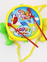 abordables -Hand Drums Pour les enfants Education Amusement Plastique Jouet TOY 18*13cm