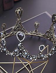 preiswerte -Aleación Tiaras mit Strass / Kristall 1pc Hochzeit / Besondere Anlässe Kopfschmuck