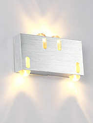 cheap -Modern  4W LED Wall Sconce Indoor Hallway Up Down Spot Light Aluminum Decorative Lighting