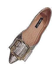 povoljno -Žene Cipele PU Ljeto Udobne cipele Ravne cipele Ravna potpetica za Kauzalni Crn Srebro