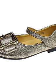 abordables -Fille Chaussures Polyuréthane Printemps Automne Confort Ballerines pour Décontracté Or Noir
