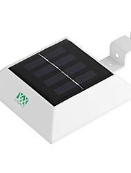 Недорогие -YWXLIGHT® 1шт 2W Свет газонные Работает от солнечной энергии Водонепроницаемый Управление освещением Холодный белый 3.7V Уличное освещение