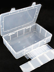 cheap -Kitchen Organization Storage Boxes Plastic Easy to Use 1pc