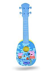 billige Akustiske gitarer-Gitar Pig Plastikker Nuttet For barn 4pcs Dreadnought Utskjæring Leke TOY Leketøy