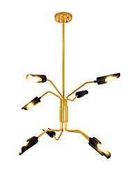 abordables -ZHISHU Inspiré de la nature Chic & Moderne Lustre Lumière d'ambiance - Ajustable, 110-120V 220-240V Ampoule incluse