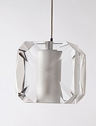 povoljno -QIHengZhaoMing Privjesak Svjetla Ambient Light - Crystal, LED Chic & Moderna, 110-120V 220-240V, Meleg fehér, Bulb Included