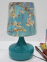 cheap -Traditional / Classic Crystal / Decorative Table Lamp For Metal 220-240V Blue / White / Yellow