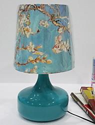 preiswerte -Traditionell-Klassisch Kristall Dekorativ Tischleuchte Für Metall 220-240V Blau Weiß Gelb