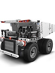 cheap -Xiaomi Mitu Block Robot Mine Truck Building Blocks 530pcs Parent-Child Interaction Truck Gift