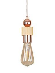 cheap -Pendant Light Ambient Light - Mini Style, Retro / Vintage Modern / Contemporary, 110-120V 220-240V Bulb Included