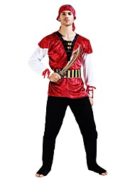 cheap -Pirates of the Caribbean Outfits Unisex Halloween Carnival Day of the Dead April Fool's Day Masquerade Valentine's Day Birthday New Year