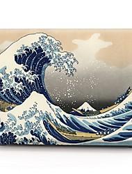 """baratos -Capa para MacBook para Pintura à Óleo Plástico Para o Novo MackBook Pro 15"""" Para o Novo MackBook Pro 13"""" MacBook Pro 15 Polegadas MacBook"""