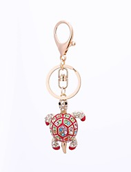 cheap -Turtle Keychain Black / Red / Blue Alloy Ordinary, Casual For Gift / Daily