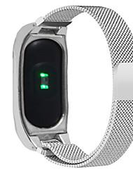 abordables -Bracelet de Montre  pour Mi Band 2 Xiaomi Bracelet Milanais Acier Inoxydable Sangle de Poignet