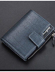 cheap -Men's / Unisex Bags PU Wallet Zipper for Shopping Blue / Gold